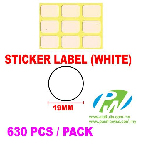 Sticker Label (19mm)