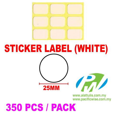 Sticker Label (25mm)