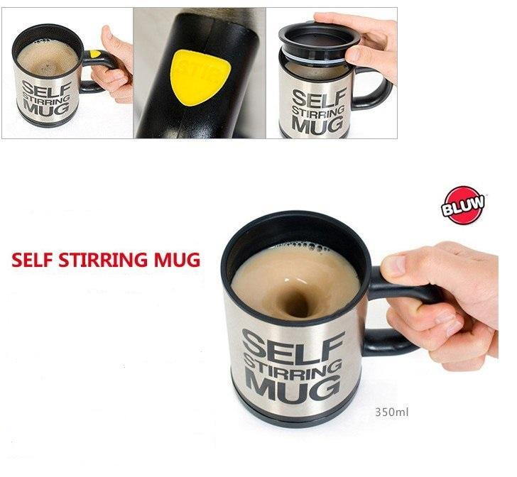 NEW SELF STIRRING MUG