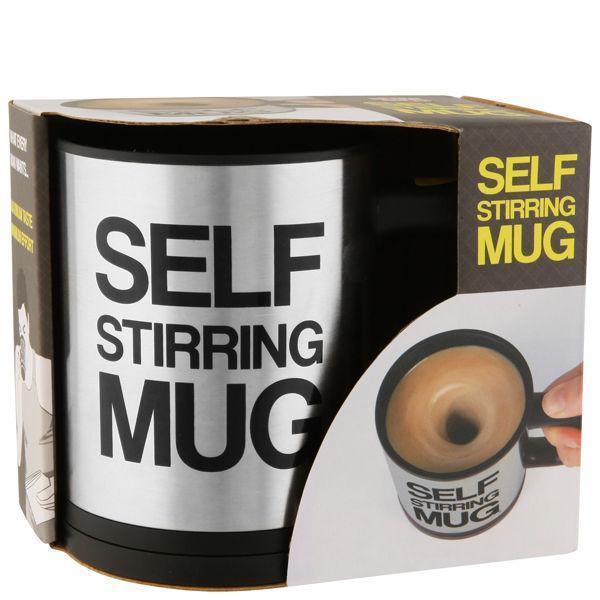 Self Stirring Mug / Cawan
