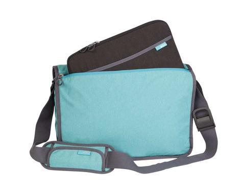 "STM NOMAD EXTRA SMALL 11"" LAPTOP SHOULDER BAG - BONDI BLUE"