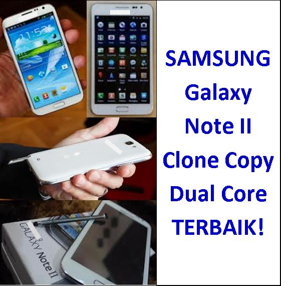 NEW STOCK! Samsung Galaxy Note II 2 Clone Copy Dual Core (built in S Pen)
