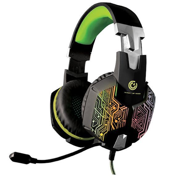 STR SONIC GEAR HEADSET WIRED 2.1 GAMING X-CRAFT HP5000