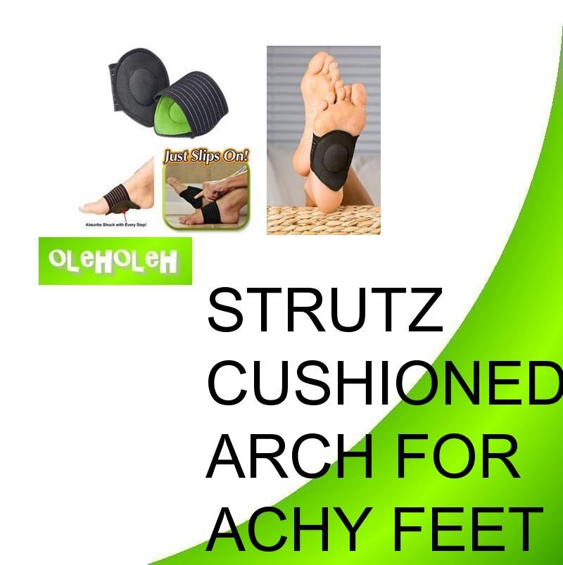 Strutz Cushioned Arch Supports-Stand Walk All Days Relief 4 Achy Feet