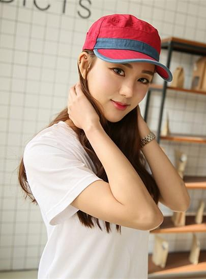 New Style Mix Colour Couple Fashion Cap