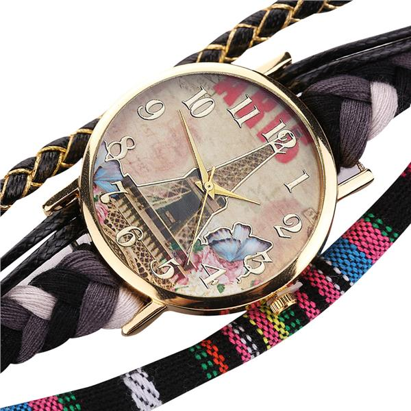 Stylish Chic Knit Bracelet Decorative Watch For Women - FREE SHIPPING