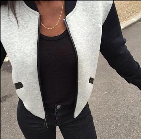 Stylish Jacket Grey