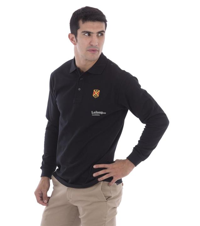 ALL NEW & STYLISH Mens Gentleman Color Polo in Black Size XXL