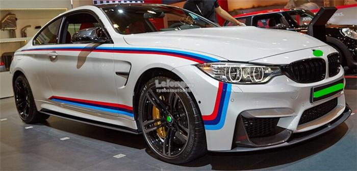 Stylish Sporty Personalize Side Body Lining Sticker For BMW