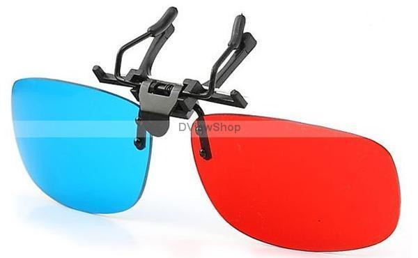 3D GLASSES FLIP-UP PACKAGE