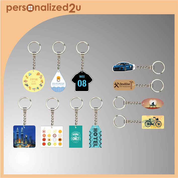 Sublimation Keychains