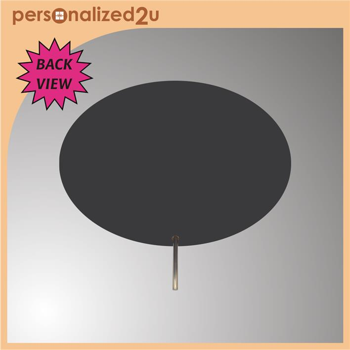 Sublimation Oval Hardboard with Screw Stand