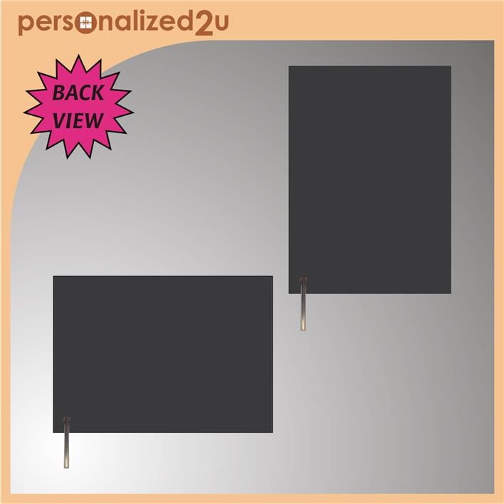 Sublimation Rectangle Hardboard with Screw Stand