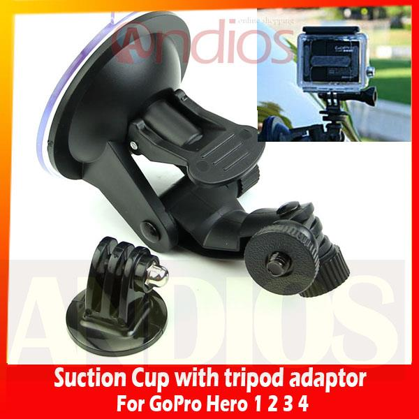 Suction cup mount/Car Holder for Gopro/ SJ4000.Accessories Go Pro Hero