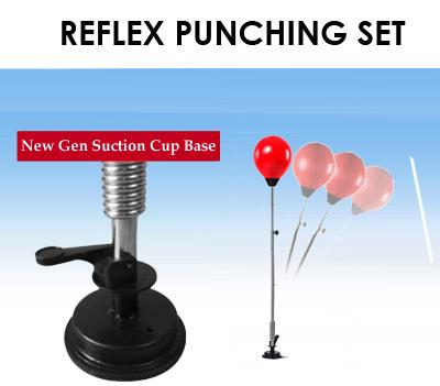 SUCTION Punching Ball Bag Fitness Gym Equipment Boxing