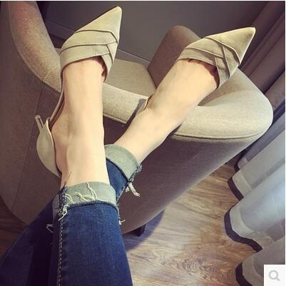 Summer new arrival Korea version fashion pointed high heels