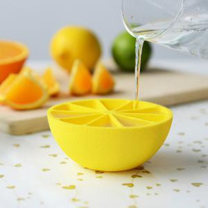 Summer Essential~Creative 10 Grid Lemon Ice Mould