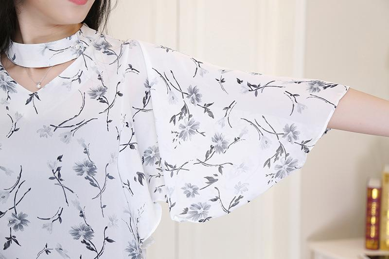 Summer Fashion Floral Printing Chiffon
