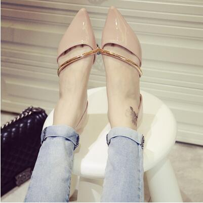 Summer Korea version pointed sexy sweet wing casual sandal