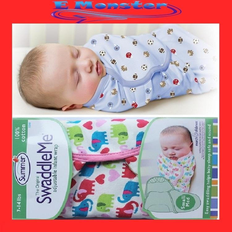 how to use a baby swaddle me