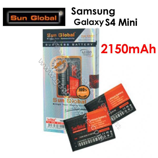 Sun Global Samsung Galaxy S4 Mini i9190 2150mAh High Capacity Battery