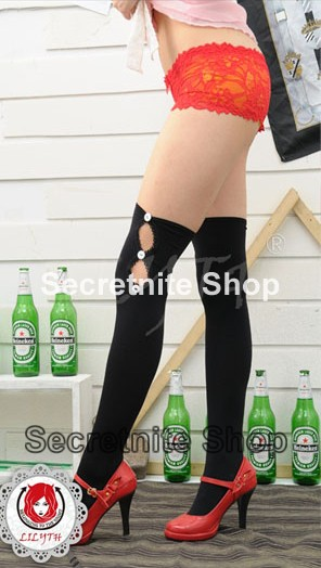 Sun@ Sexy Black Fashion Stocking ST-58