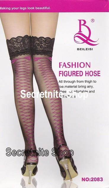 Sun@ Sexy Black Fashion Stocking ST-88