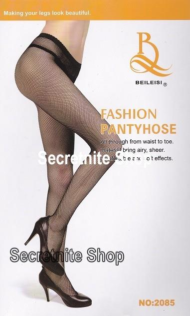 Sun@ Sexy Black Fishnet Stocking ST-113
