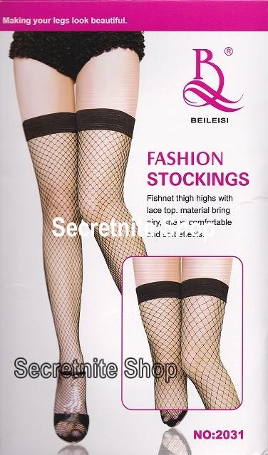 Sun@ Sexy Black Fishnet Stocking ST-84