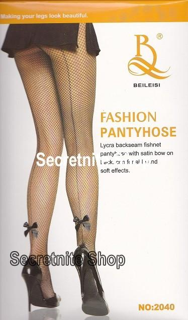 Sun@ Sexy Black Fishnet Stocking ST-90