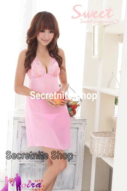 Sun@ Sexy Pink Babydoll with G-string S-360