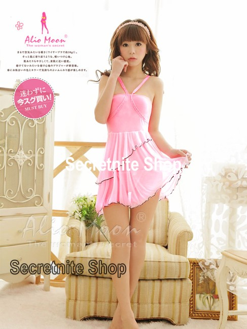 Sun@ Sexy Pink Babydoll with G-string S-629