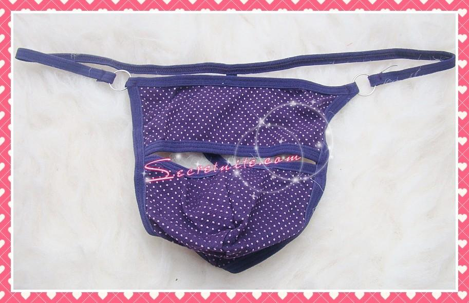 Sun @ Sexy Purple Man G-string MG-12
