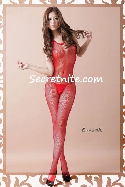 Sun @ Sexy Red BodyStocking BS-58