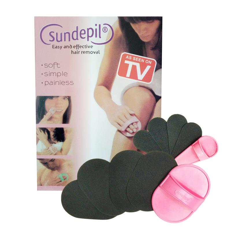 Sundepil Smoothlegs Painless Hair Removal Set (1 box)