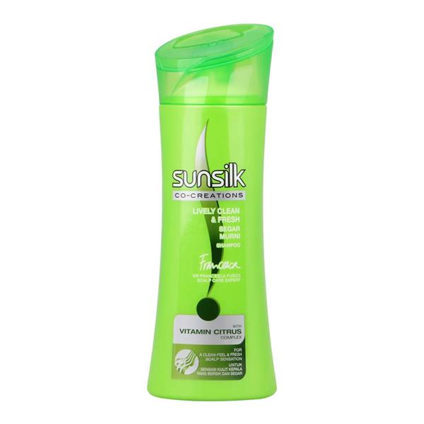 SUNSILK CO-CREATIONS LIVELY CLEAN & FRESH SHAMPOO 320ML