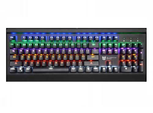 Sunsonny SK-K1 Chroma rainbow Backlit Mechanical Gaming Keyboard-black