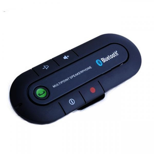 Sunvisor Bluetooth Handsfree Car Kit (Promotional Color: Black)