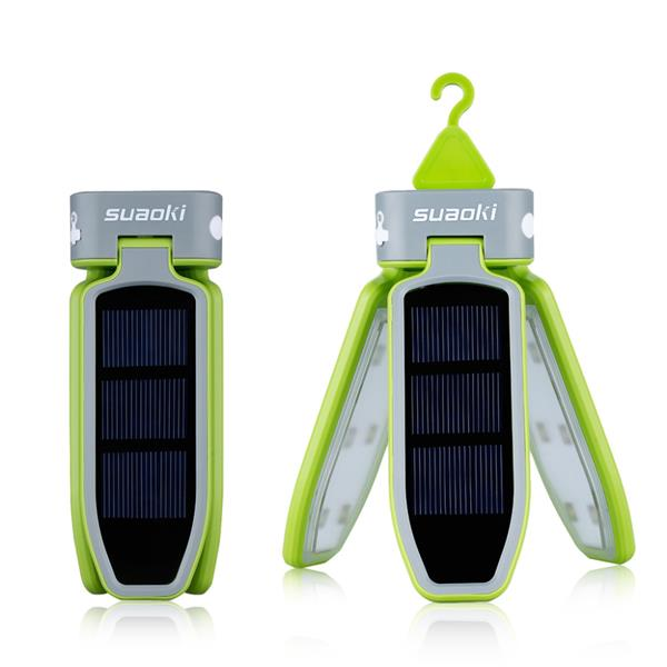 Suoaki Solar Rechargeable Lantern Waterproof Led Light For Hiking