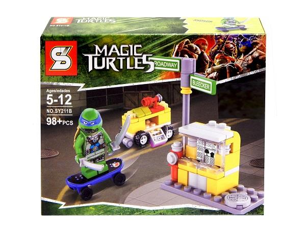Super Heroes Magic Turtles SY211B (For Ages 5-12 Years +)