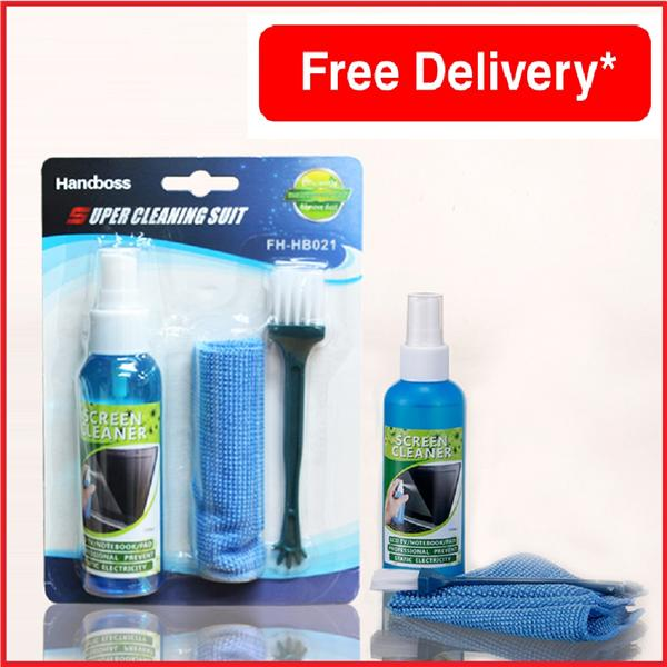 SUPER LCD SCREEN MONITOR CLEANER KIT / CLEANSER KIT / CLEANING SUIT