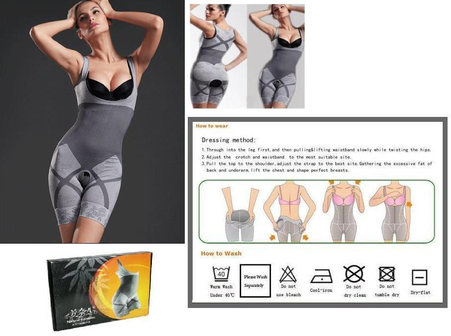 Amazing Natural Bamboo Charcoal Slimming Suit/Cors (end 12 ...