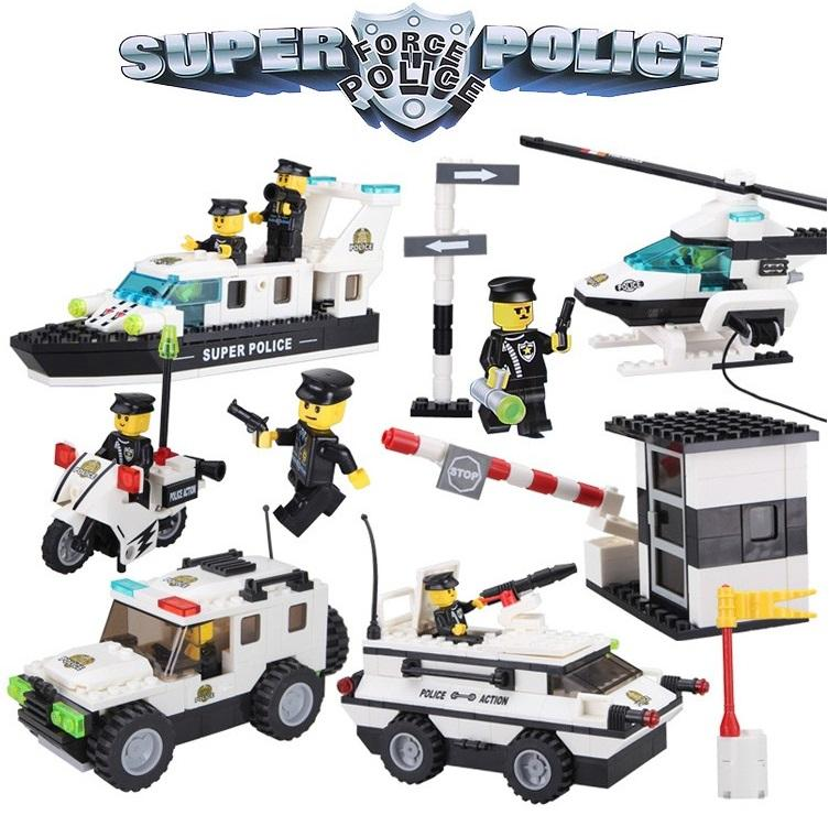 Super Police Force Building Block Set