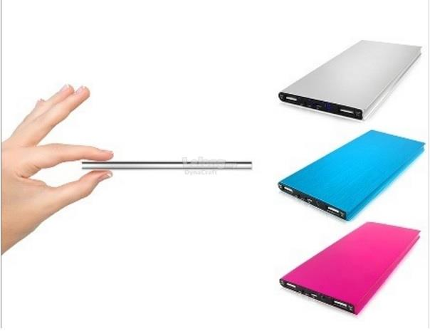 Super Slim Aluminium Power Bank - 20000