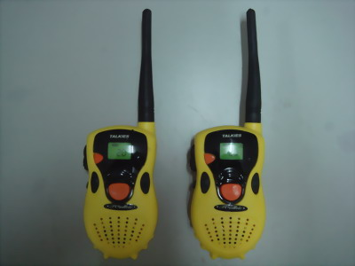 SUPER TOY TALKIES WALKIE WITH 4 TRASISTORS!!