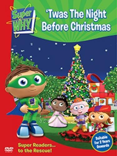 Super why twas the night before christmas dvd for Why christmas is the best holiday
