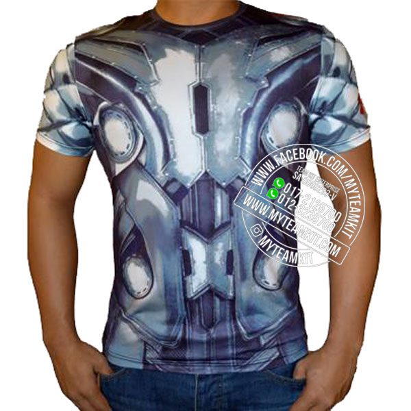 Superheroes Thor Dri-Fit Digital Print T-shirt