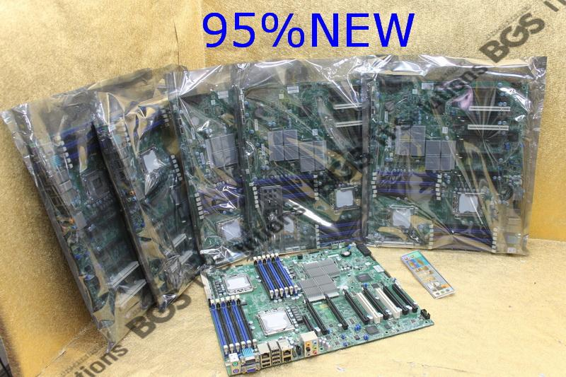 Supermicro X8DTG-QF Server Workstation  Mainboard +cpu+power