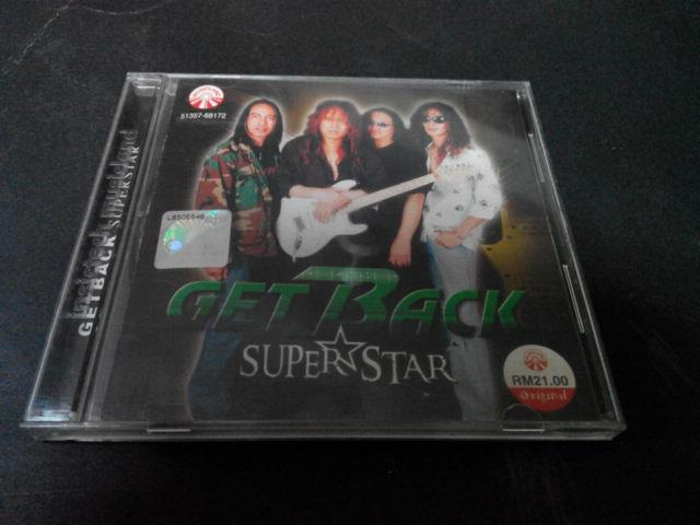 GET BACK - SUPERSTAR CD