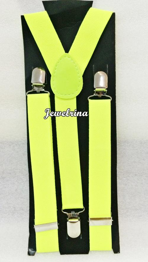 Suspender/Braces Neon (Free Shipping)